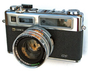 Classic Yashica Electro 35-series Rangefinders - Amazing Lenses, spot-on metering!